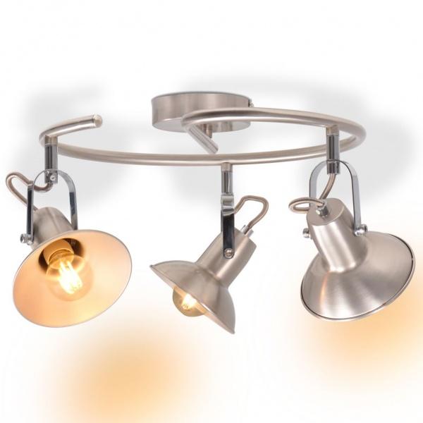 Lampadario Soggiorno Lampada Design Per 3 Lampadine Direzionabili E14